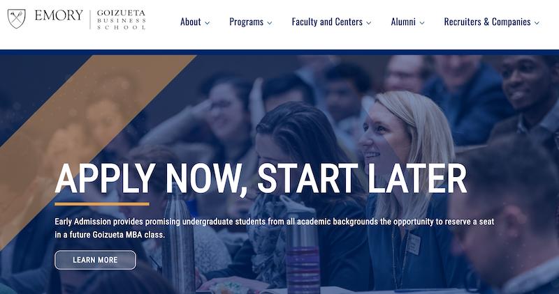 ゴイズエタビジネススクール(Goizueta Business School)とは